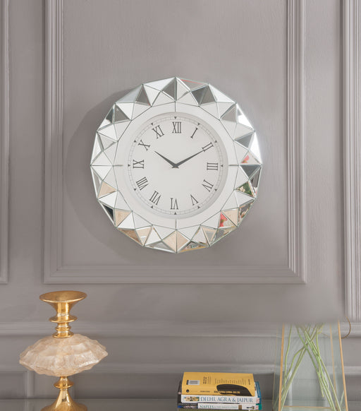 Nyoka Mirrored Wall Clock image