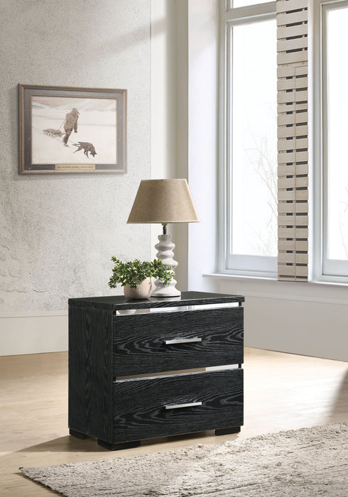 Laleh Black (High Gloss) Accent Table image
