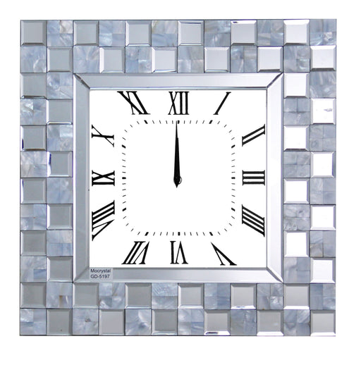 Nasa Mirrored Wall Clock image