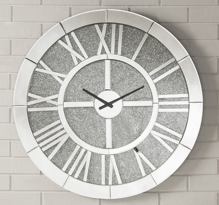 Nowles Mirrored Wall Clock image