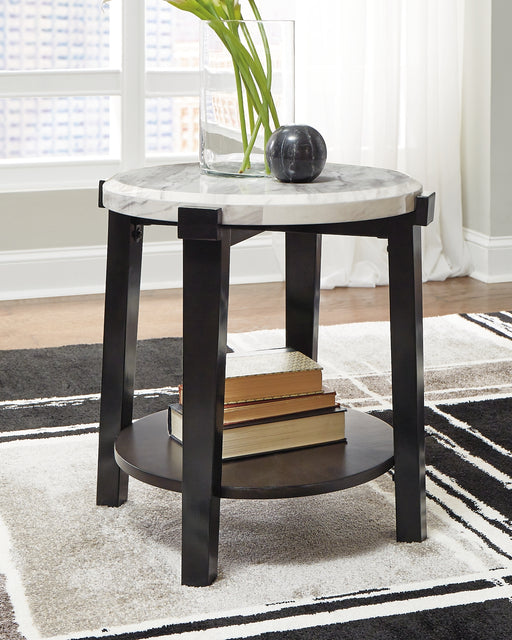 Janilly Signature Design by Ashley Round End Table image