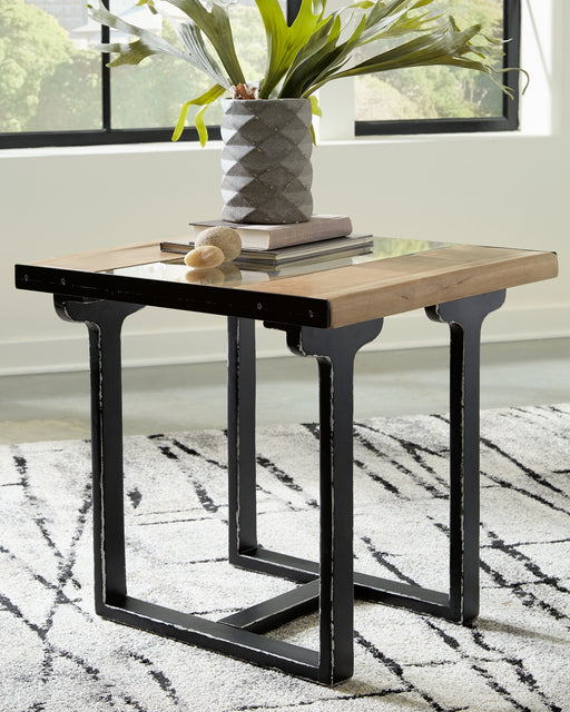 Calkosa Signature Design by Ashley Rectangular End Table image