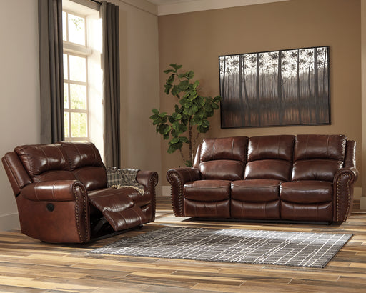 Bingen Signature Design by Ashley Reclining Power Loveseat image