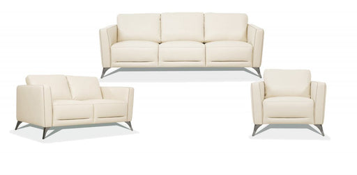 Malaga Cream Leather Sofa image