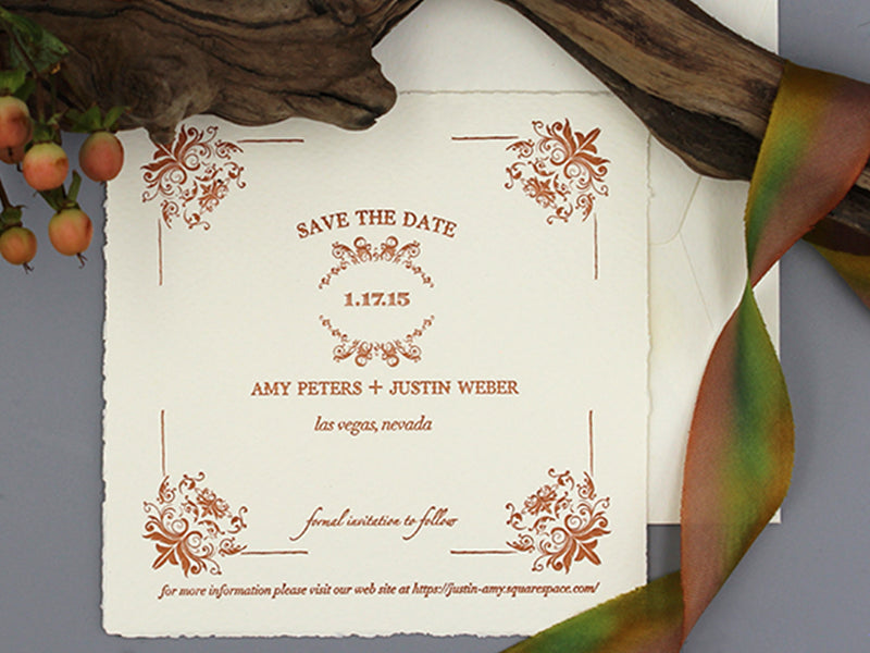 LAS VEGAS WEDDING SAVE THE DATES