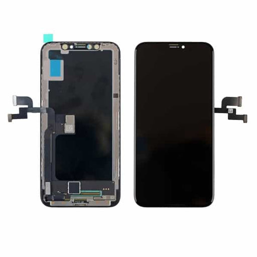 REPLACEMENT FOR IPHONE X OLED SCREEN DIGITIZER ASSEMBLY - BLACK - iDevice SG Store