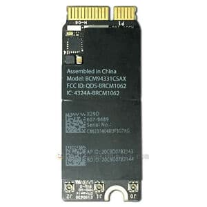 Airport Wireless Network Card #BCM94360CS For Macbook Pro Retina A1502 A1398 (LATE 2013,MID 2014)