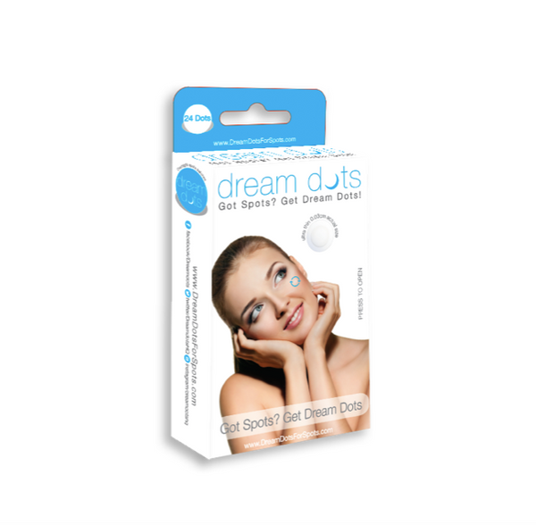 dream dots acne patches for acne pimples and breakouts