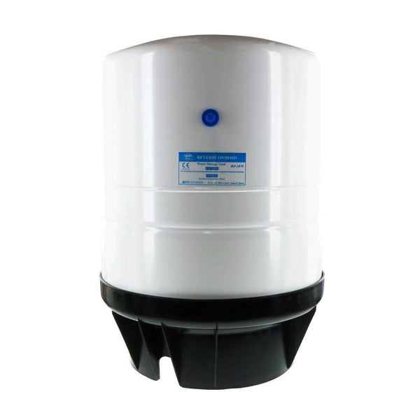 PAE RO-1070 Reverse Osmosis Storage Tank White Powder Coated Steel 14 Gal