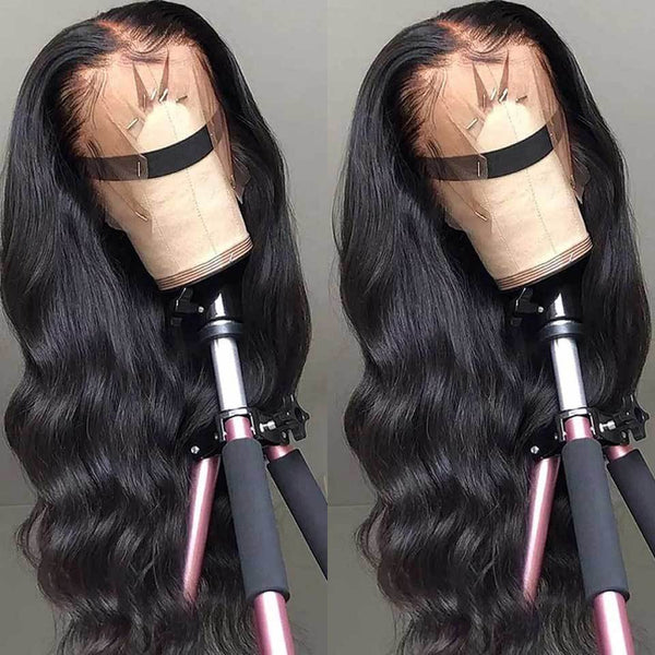 BeuMax Hairs Brazilian 4x4 Lace Closure Human Hair Wigs - Body Wave