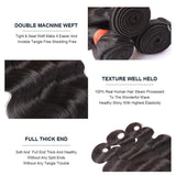 BeuMax Hairs 10A Grade Brazilian Human Hair Extension Body Wave