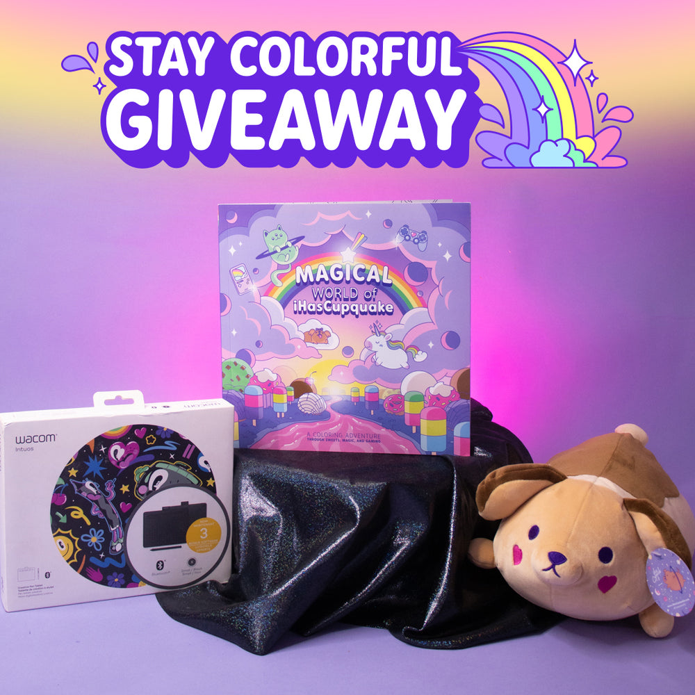 Stay Colorful Giveaway 🌈🖍