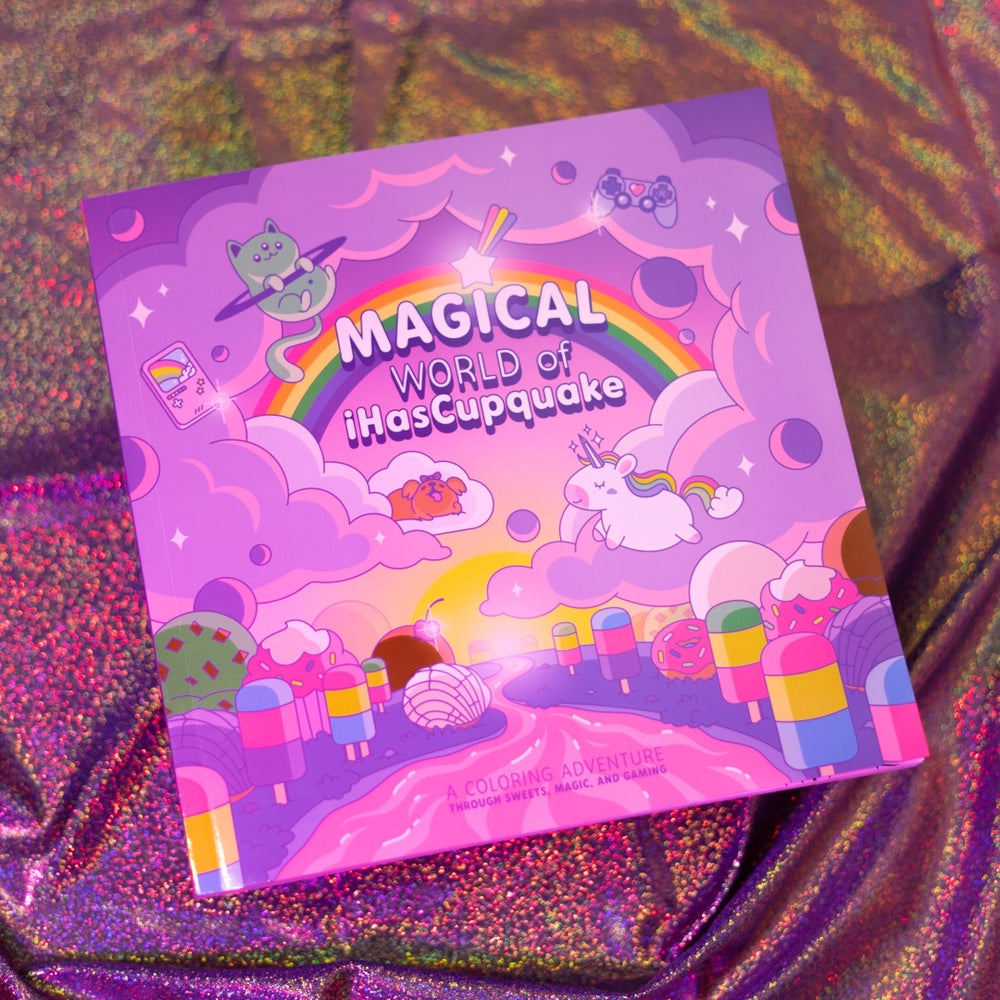 Are you ready to enter the Magical World Of iHascupquake ?! 🔮🧁☁👾