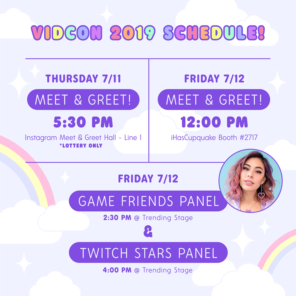Vidcon 2019 is almost here!