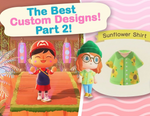 The BEST Custom Designs in Animal Crossing New Horizons Part 2! Designer Showcase