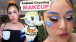 Animal Crossing inspired MAKEUP - GRWM w/ Chrissa Sparkles