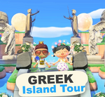 GREEK 5 Star Island Tour (900 Hours) in Animal Crossing New Horizons