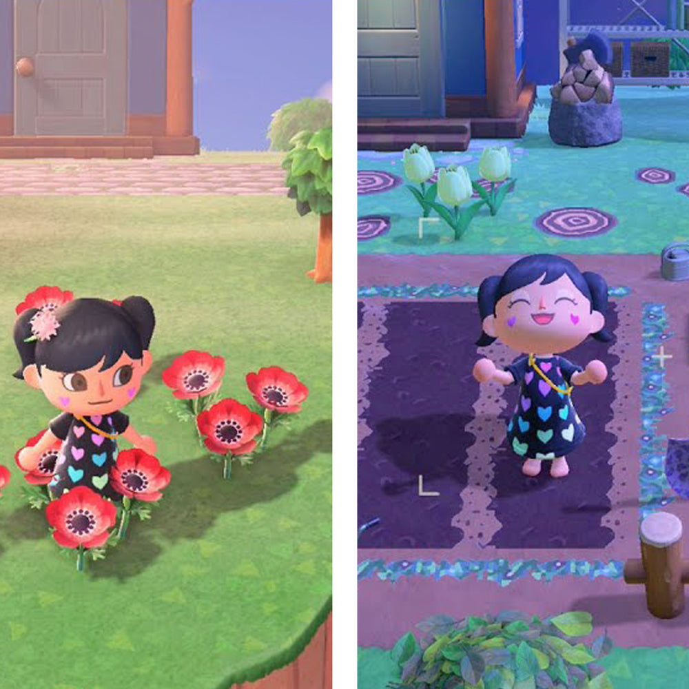 CUTE Farm Makeover in Animal Crossing New Horizons