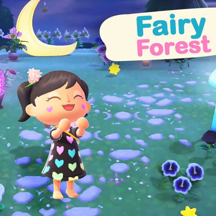 Creating A Fairy Forest in Animal Crossing New Horizons
