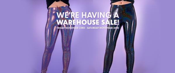 Black Friday Sale and Warehouse Sale in LA!