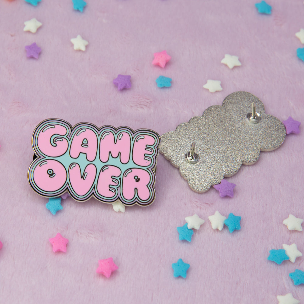 Pastel Game Over Pin