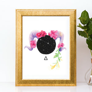 Load image into Gallery viewer, Aries Art Print