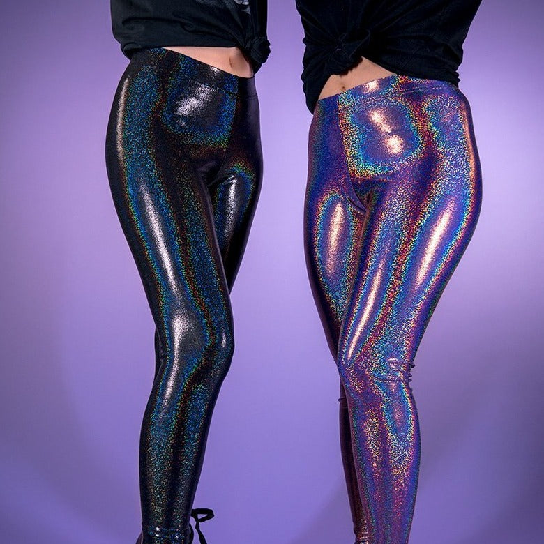 Load image into Gallery viewer, Rainbow Aura Leggings
