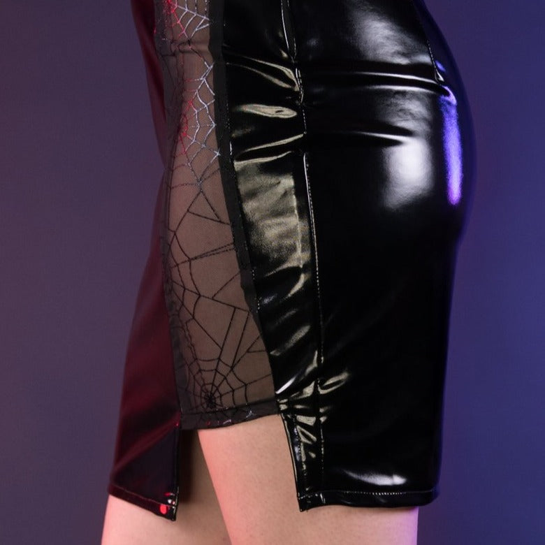 Load image into Gallery viewer, Black Widow Skirt