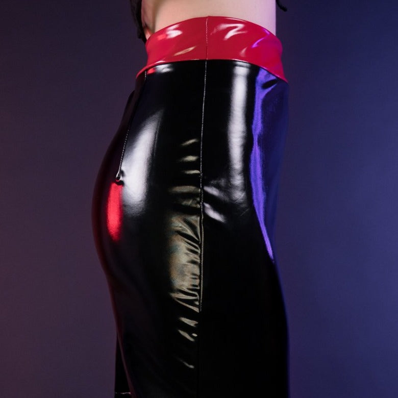 Load image into Gallery viewer, Black Widow Skirt by Moody Me