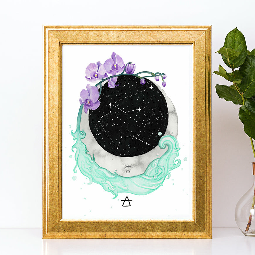 Load image into Gallery viewer, Aquarius Art Print