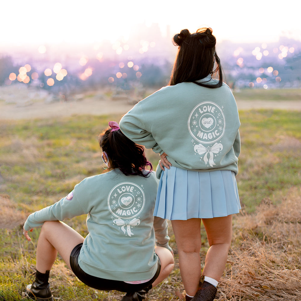 Love and Magic Medallion Sweater