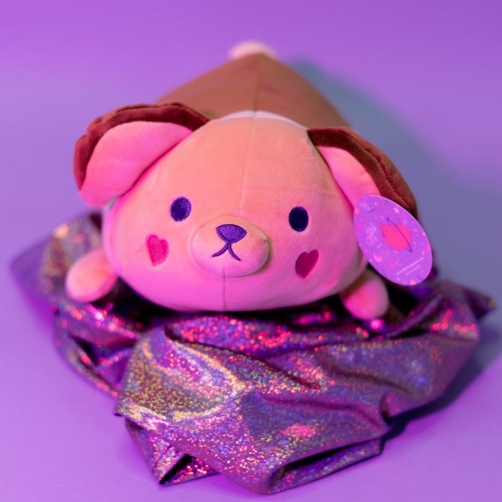 Ruby Kawaii Dog Plushie