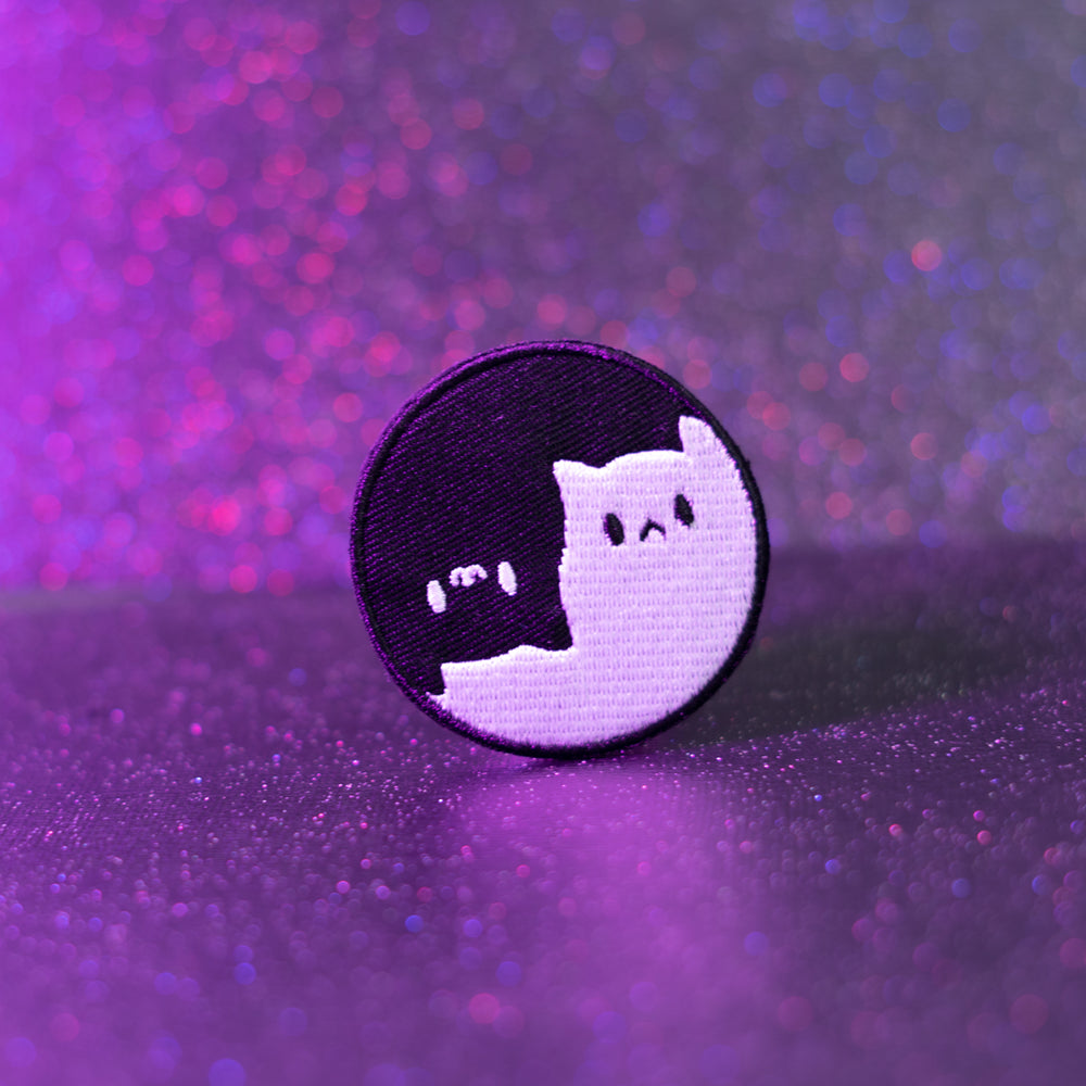 Yin Yang Kitty Patch