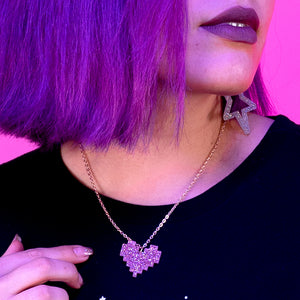 Load image into Gallery viewer, Piece of My Heart Necklace