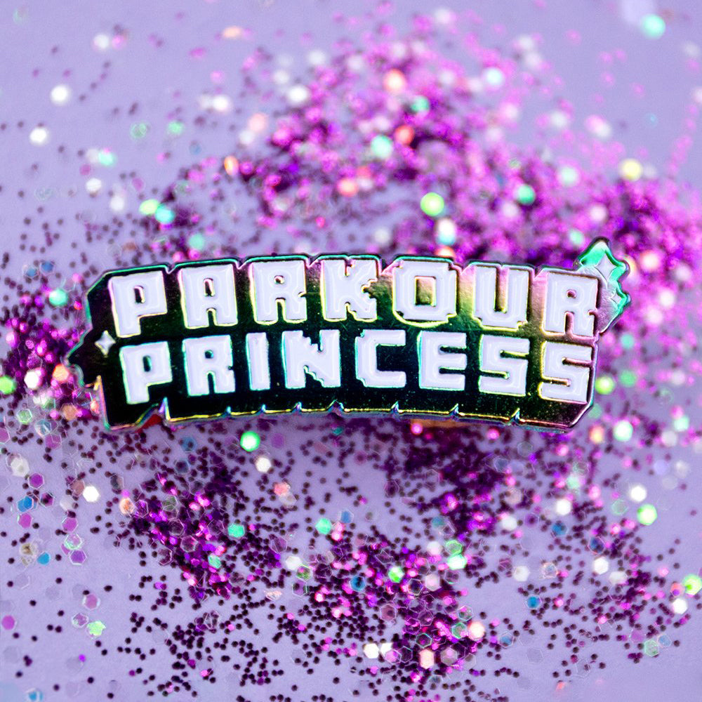 Parkour Princess Pin