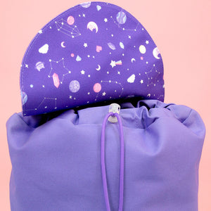 Ultra Violet Galaxy Backpack