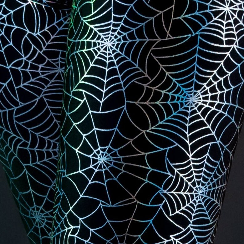 Load image into Gallery viewer, Walking in the Spiderwebs Leggings