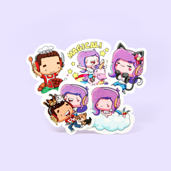 Magical Sticker Pack (Redquake Emotes)