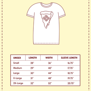 Adult Pizza Gaming  Ringer T-shirt