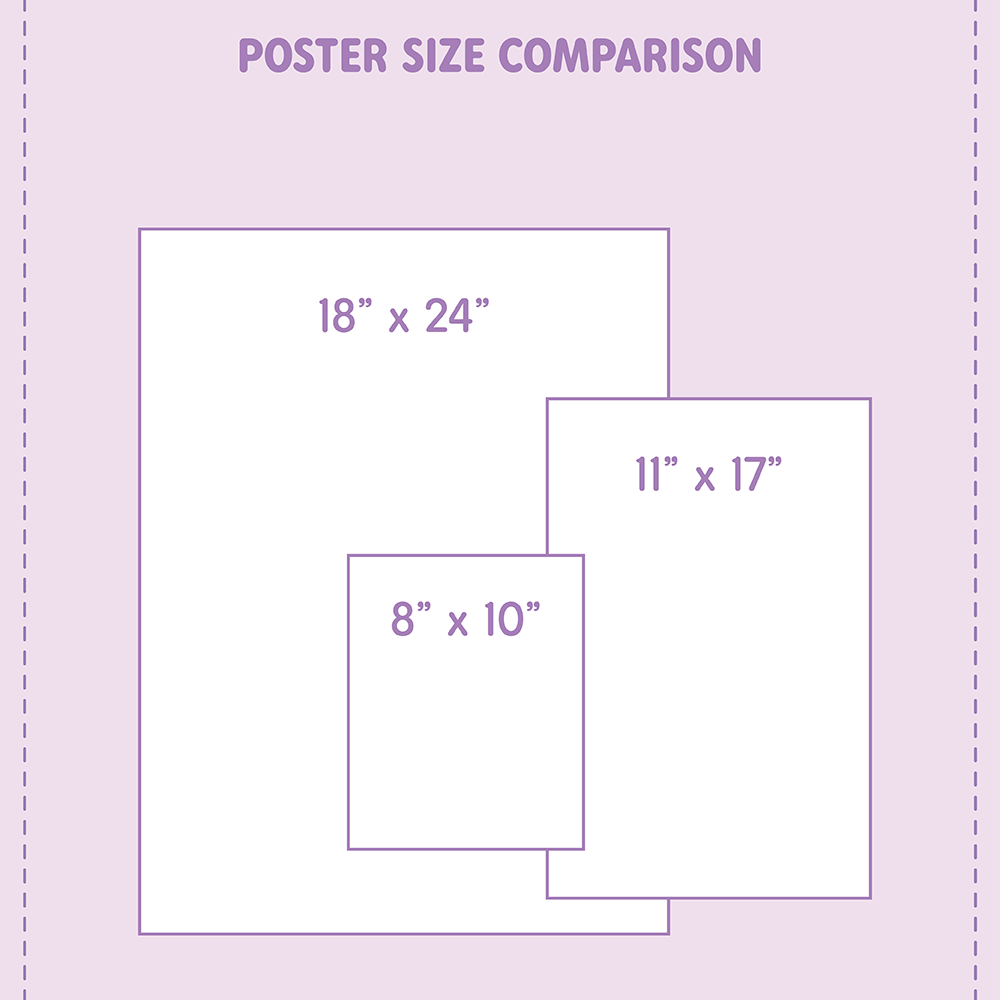 Pastel Perfection Poster