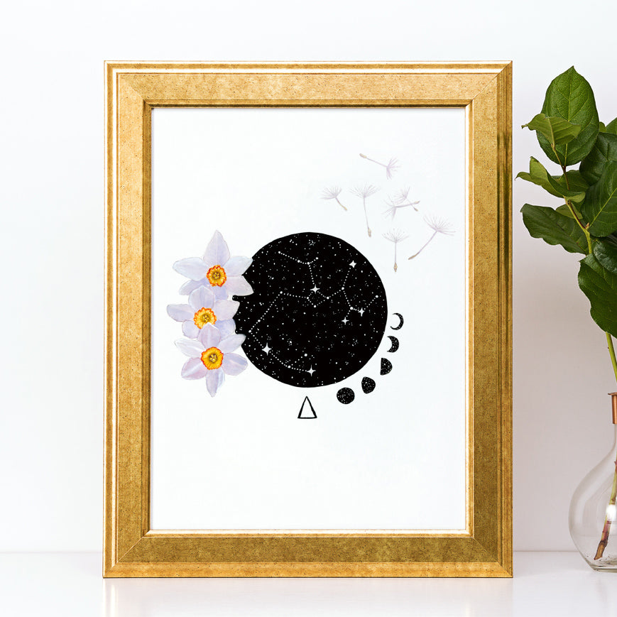 Load image into Gallery viewer, Sagittarius Art Print