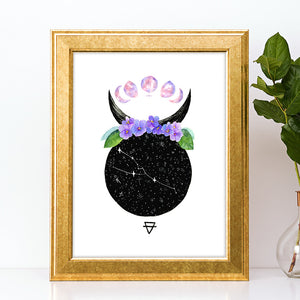 Load image into Gallery viewer, Taurus Art Print