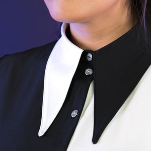 Load image into Gallery viewer, Trick-or-Treat Collared Shirt by Moody Me