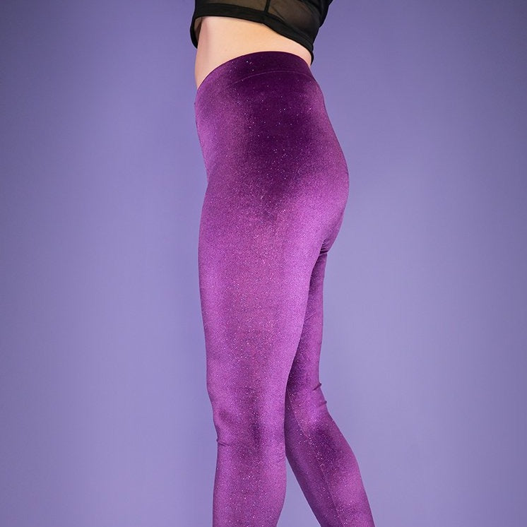 Violet Dream Leggings by Moody Me