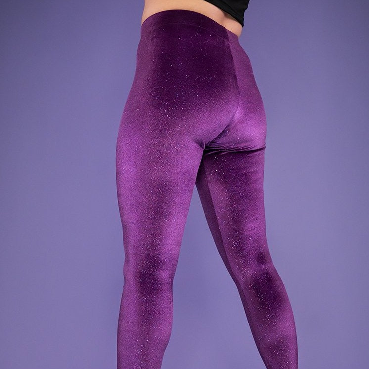Load image into Gallery viewer, Violet Dream Leggings by Moody Me