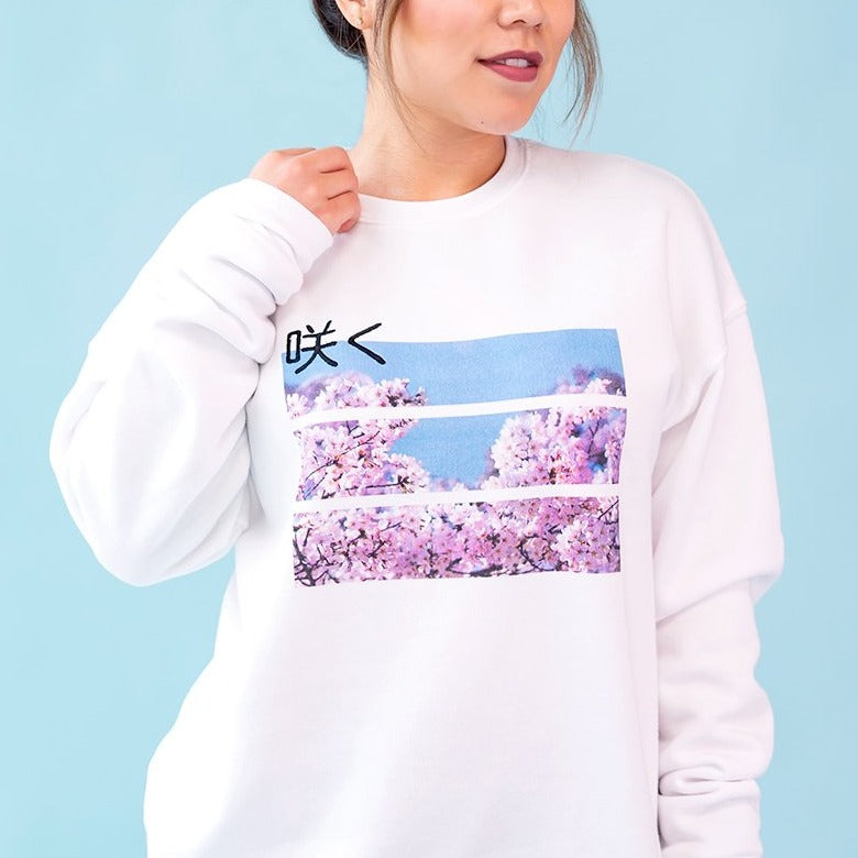 Load image into Gallery viewer, Bloom Crewneck by Moody Me