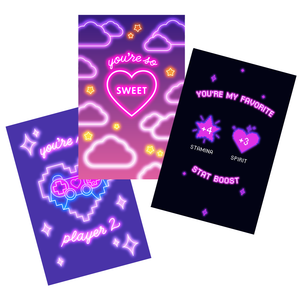 XOXO Valentine Cards (Digital Download)