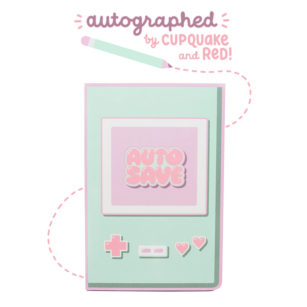 Signed! Auto Save Autograph Book