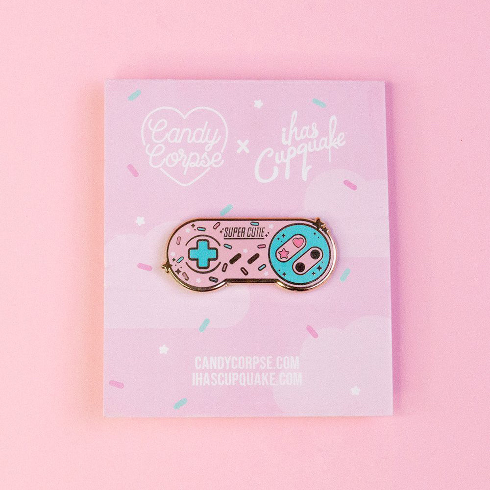 Load image into Gallery viewer, Pastel Kawaii Gamer Controller Pin