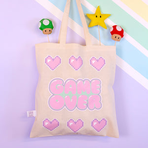 Load image into Gallery viewer, Pastel Gamer Kawaii Tote bag
